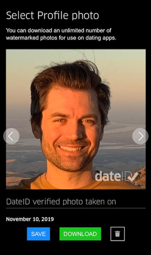 DateID verified photo