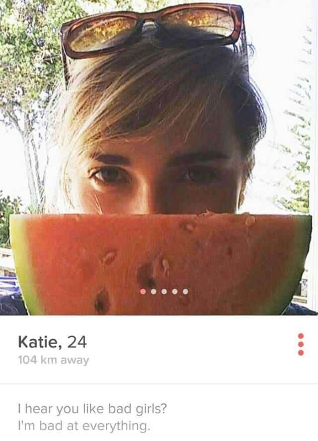 Funny tinder profile text