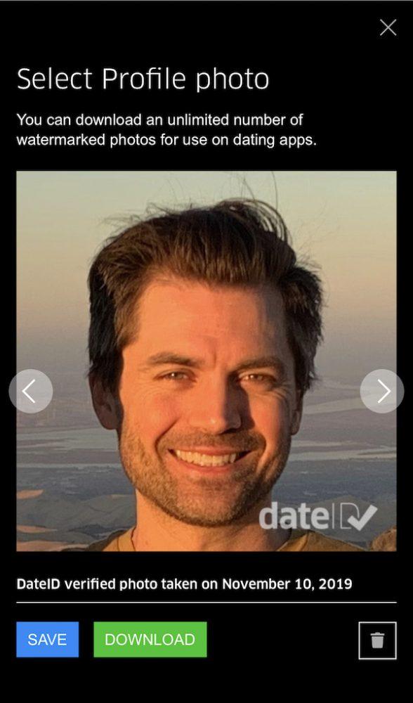 verified dating app photo