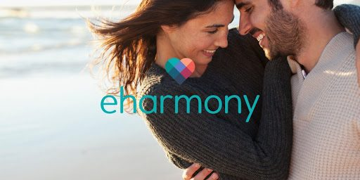 couple hugging online dating eHarmony vs Match